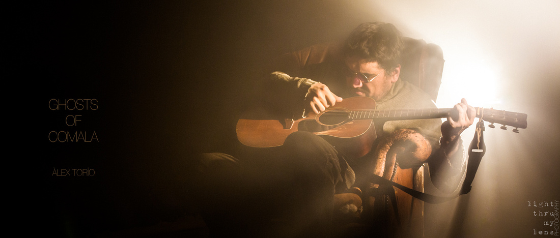 """fotos promocionals, Àlex Torío, Ghosts of Comala, rodatge del videoclip de """"Riderless Horse"""""""