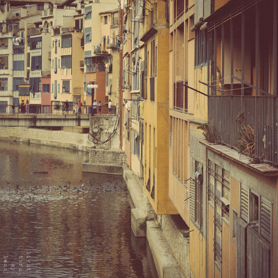 Girona- cases de l'Onyar